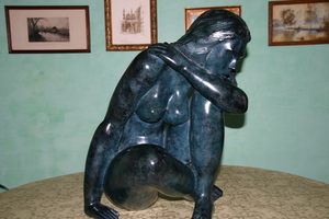 Jean LANIAU, sculpture bronze originale