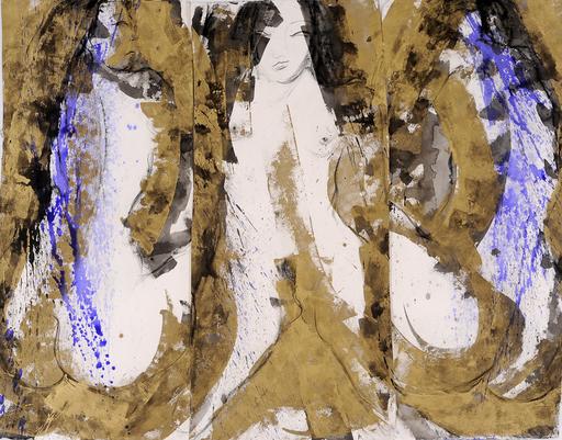 Sophie SAINRAPT - Painting - Femme japonaise