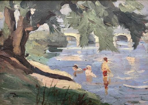 Pierre Eugène MONTEZIN - Peinture - paysage