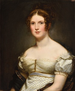 Pierre-Paul PRUD'HON - Pittura - Portrait e madame Navier, marquise de Beauvoir