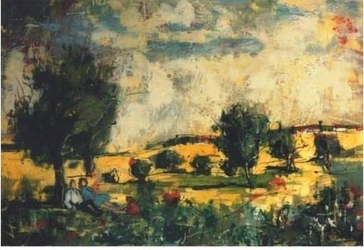 Bertoldo TAUBERT - Gemälde - *Le Repos