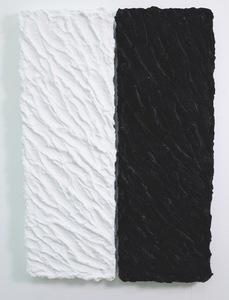 Pino PINELLI - Pittura - Pittura B.N. (2 elementi)