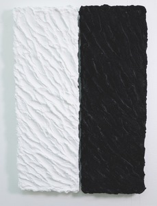 Pino PINELLI - Painting - Pittura B.N. (2 elementi)
