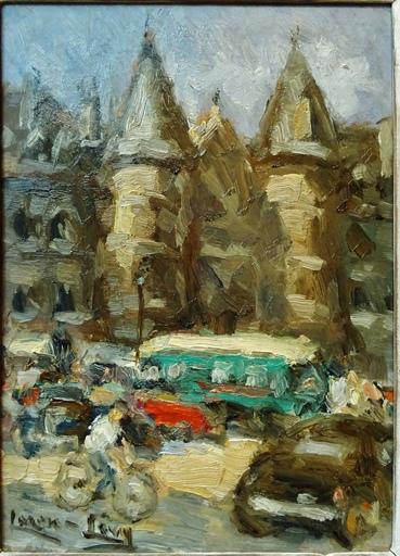 LAZARE-LÉVY - Peinture - La Conciergerie à Paris
