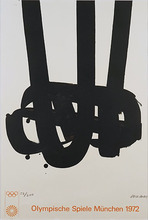 Pierre SOULAGES - Print-Multiple - Lithographie n° 29
