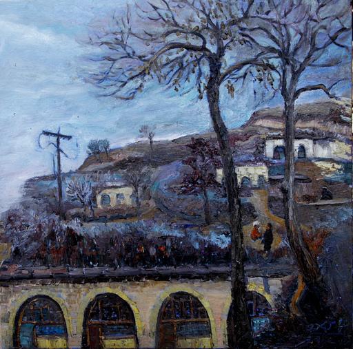 ZHENG Judy C. - Gemälde - Farmhouse