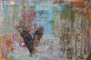 Tung-Wen MARGUE - Painting - L'envol