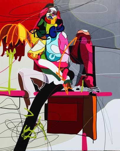Cédrix CRESPEL - Painting - Fabienne