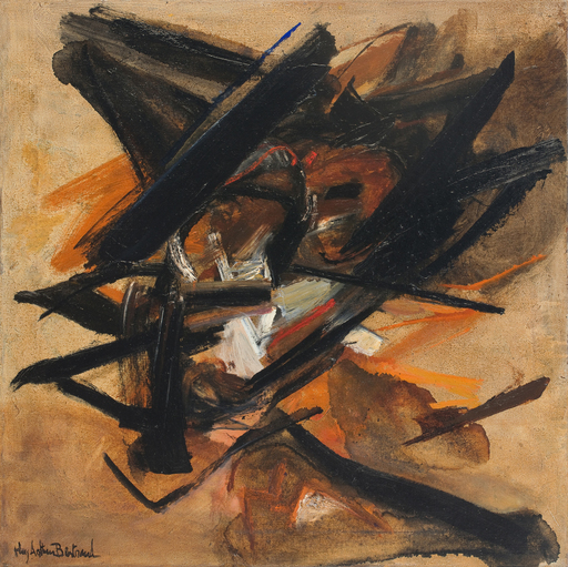 Huguette Arthur BERTRAND - Painting - Migration