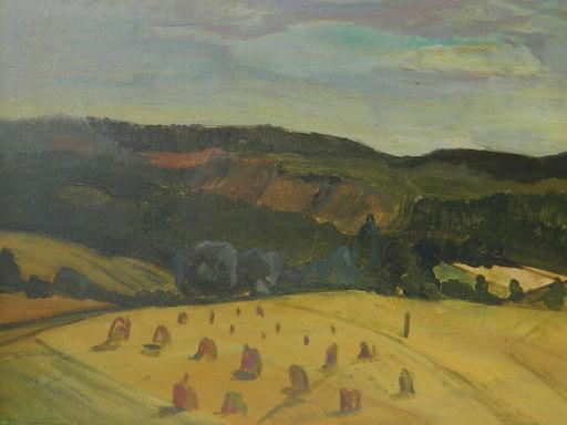 Gérard LECOMTE - Painting - PAYSAGE - LANDSCHAFT