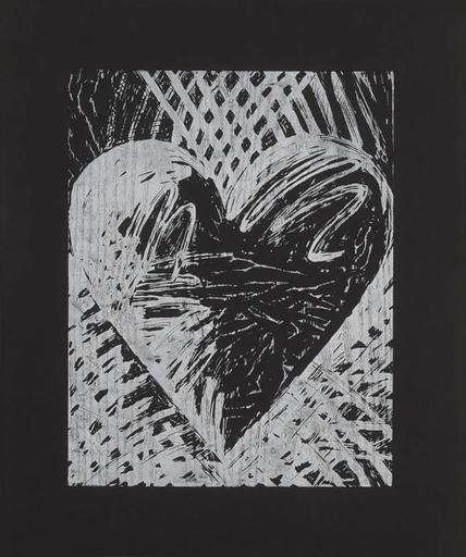 Jim DINE - Druckgrafik-Multiple - A Night Woodcut