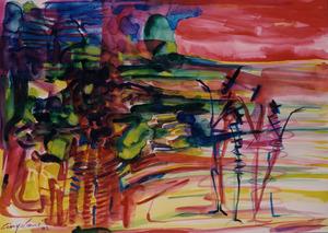 Marco CINGOLANI - Gemälde - SENZA TITOLO