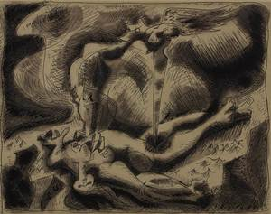 André MASSON - Print-Multiple - Andromede