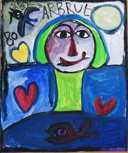 JABER - Painting - Art brut