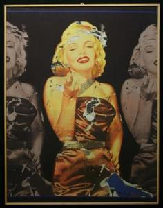 Mimmo ROTELLA, I Love you Marylin