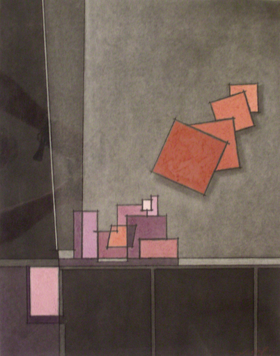 Jose Antonio LEAL - Peinture - Composizione