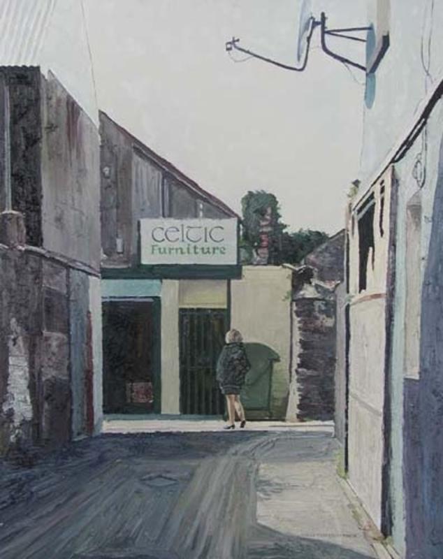 Hugues Claude PISSARRO - Painting - Celtic Furniture