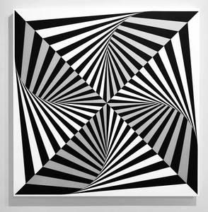 Marcello MORANDINI - Scultura Volume - Wall sculpture 670A