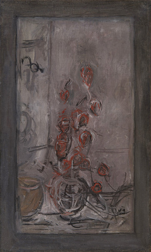 Alberto GIACOMETTI - Painting - Bouquet de physalis