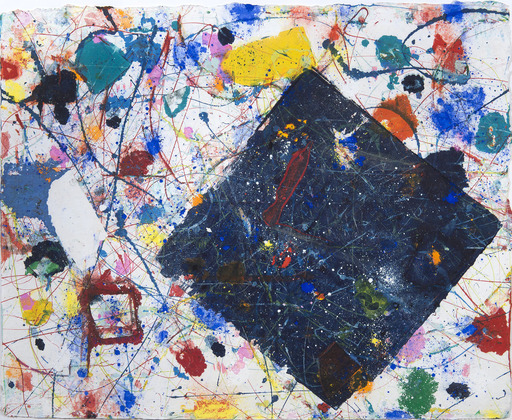 Sam FRANCIS - Dessin-Aquarelle - Untitled