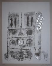 马克•夏加尔 - 版画 - Notre Dame in Grey | Notre-Dame en Gris