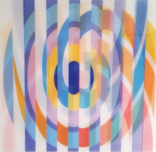 Yaacov AGAM - Estampe-Multiple - Geometric 2 Agam