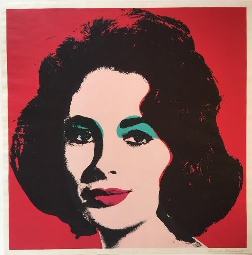 Andy WARHOL - Print-Multiple - Liz 1964 F&S II.7