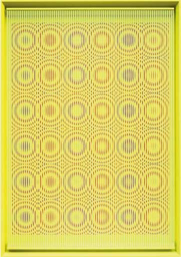 Alberto BIASI - Painting - Yellow rain
