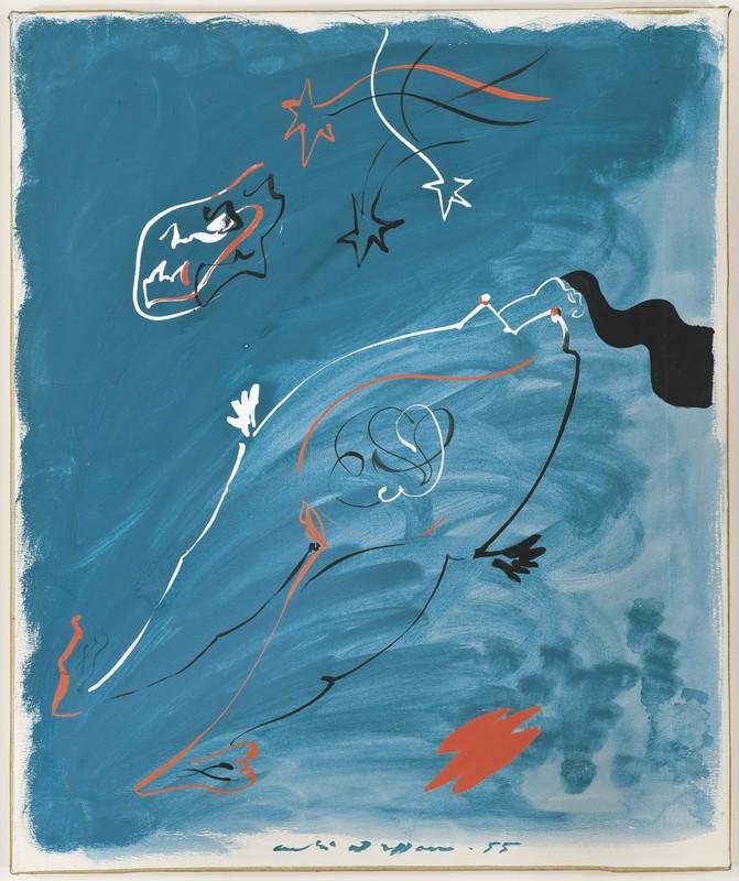 André MASSON - Gemälde - Enfantement