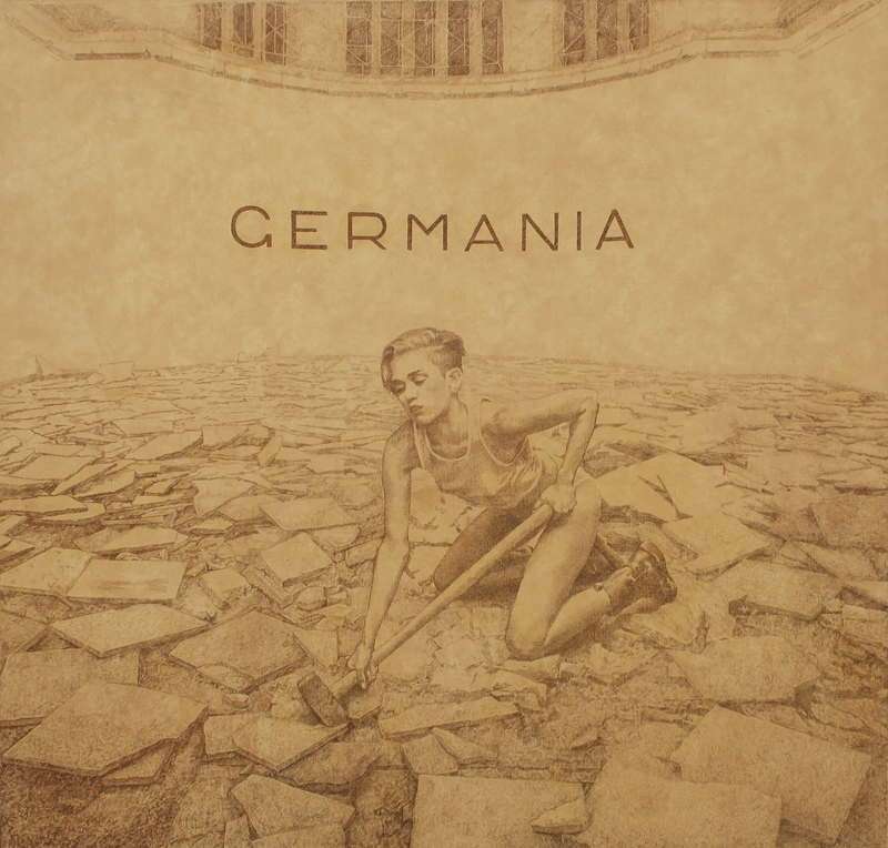 Vladimir KOLESNIKOV - 绘画 - Germania II