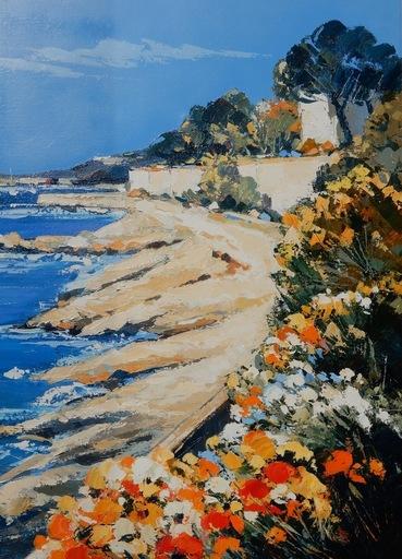 Claude MESCOULI - Pittura - La Baie