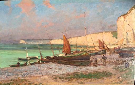 Karl CARTIER - Pintura - Yport