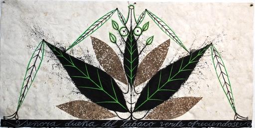 José BEDIA VALDÉS - Peinture - Señora Buena del Tabaco