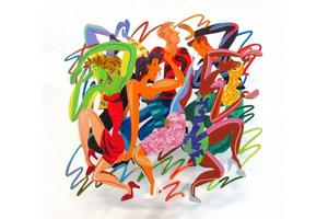 David GERSTEIN - Sculpture-Volume -  DISCO-HARD ROCK