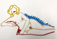 汤姆•韦瑟尔曼 - 雕塑 - Rosemary Lying on One Elbow