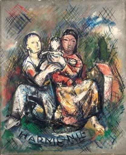 Valentine Henriette PRAX - 绘画 - Harmonie