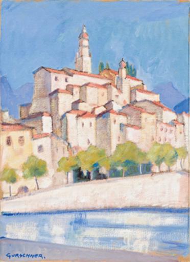 Herbert GURSCHNER - Pintura - Menton