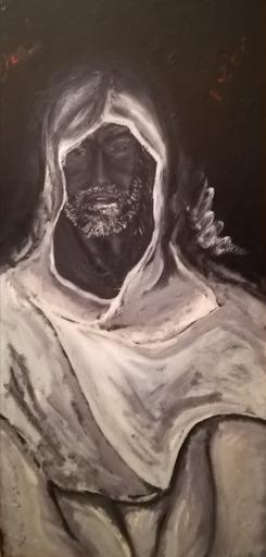 """Lorena ULPIANI - Painting - """"E torno... nel vero"""" - Ritorno di Cecco d'Ascoli - olio"""
