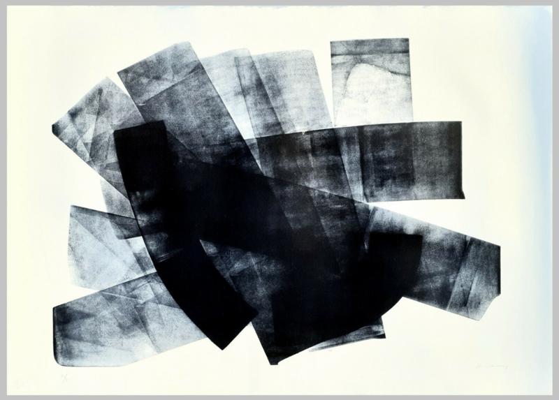 Hans HARTUNG - Estampe-Multiple - L-18-1973