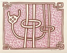 Keith HARING (1958-1990) - Chocolate Buddha 5