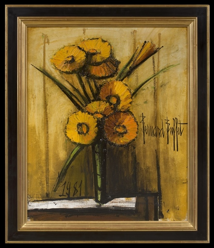 Bernard BUFFET - Painting - Soucis