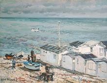 Jean RIGAUD - Peinture - Yport, Normandie