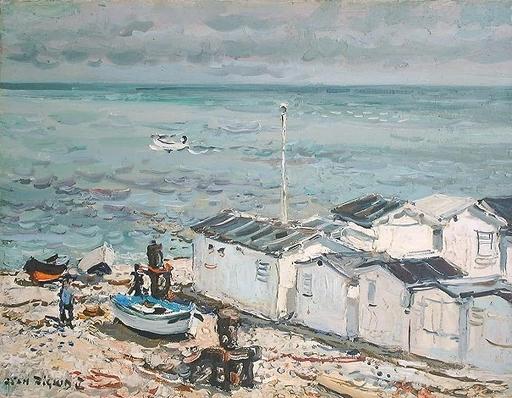 Jean RIGAUD - Pintura - Yport, Normandie