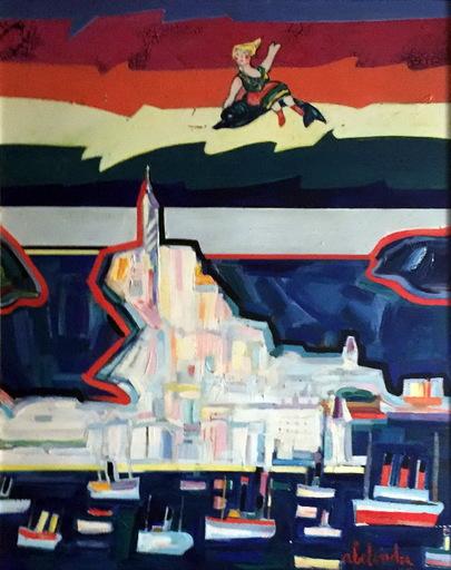 Alfonso ABELENDA ESCUDERO - Pintura - verano en coruña