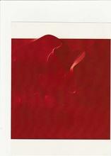 Agostino BONALUMI - Painting - TELA ESTROFLESSA E ACRILIO  ROSSO