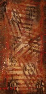 Mounya KECHA - Pintura - Sans Titre    (Cat N° 6015)