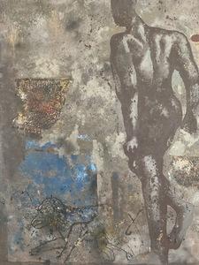 Anton SOLOMOUKHA - Painting - HUILE SUR TOILE SIGNEE ANTON SOLOMOUKHA