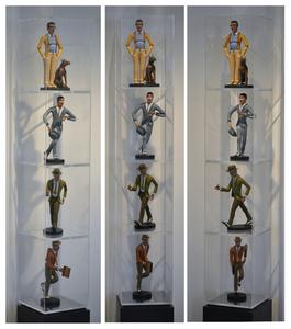 Antonio SEGUI, Ensemble de 4 sculptures