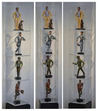 Antonio SEGUI - Escultura - Ensemble de 4 sculptures
