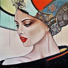 Sylvie ABADIE-BASTIDE - Painting - JULIANNA